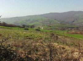 Casolare in Molise con terreno e vista panoramica- Canapa