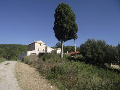 complesso di case in campagna